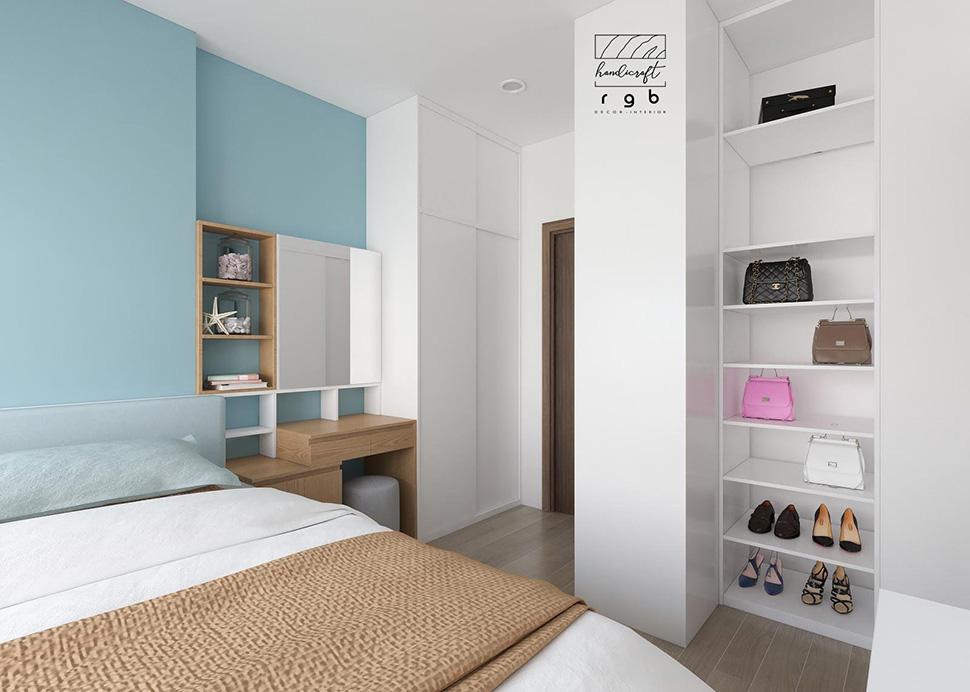 Cách bày trí thông minh trong thiết kế khiến căn phòng luôn ngăn nắp, gọn gàng