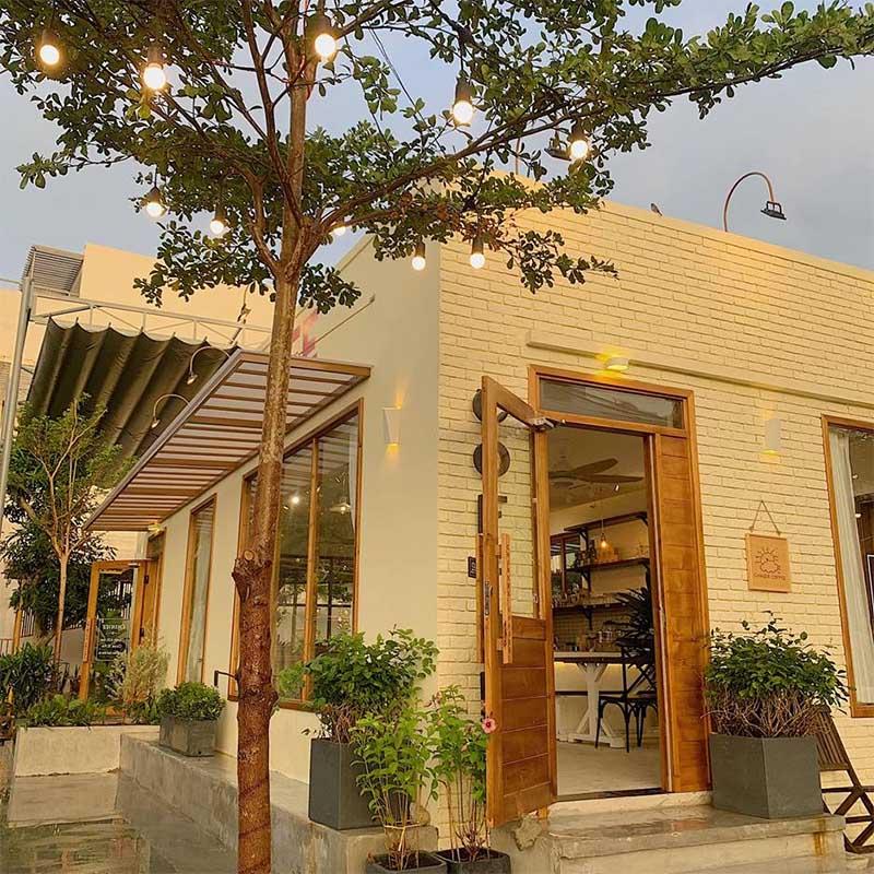 phong cách quán cafe