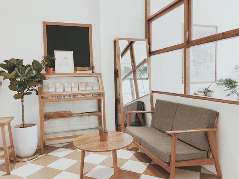 góc nhỏ quán cafe
