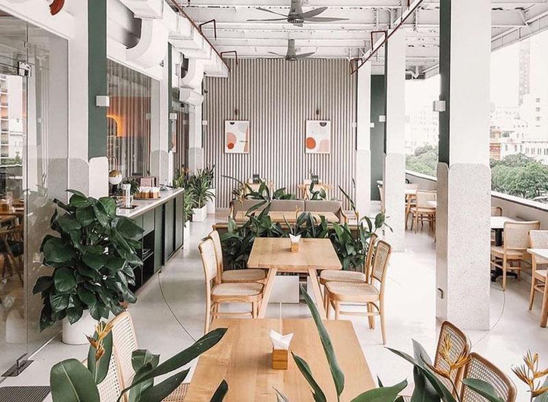 quán cafe hàn quốc