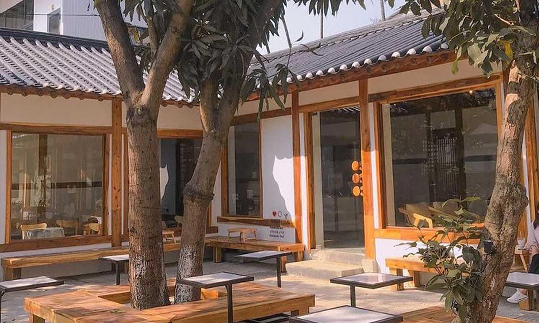 phong cách quán cafe hàn quốc hiện đại