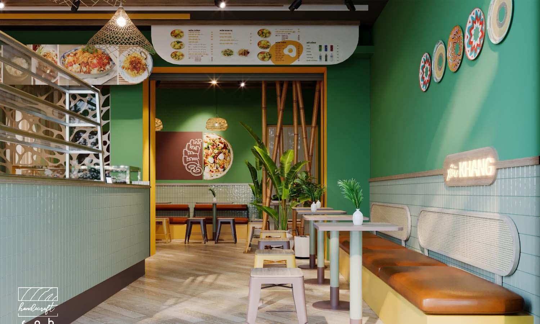 quán cafe ăn sáng