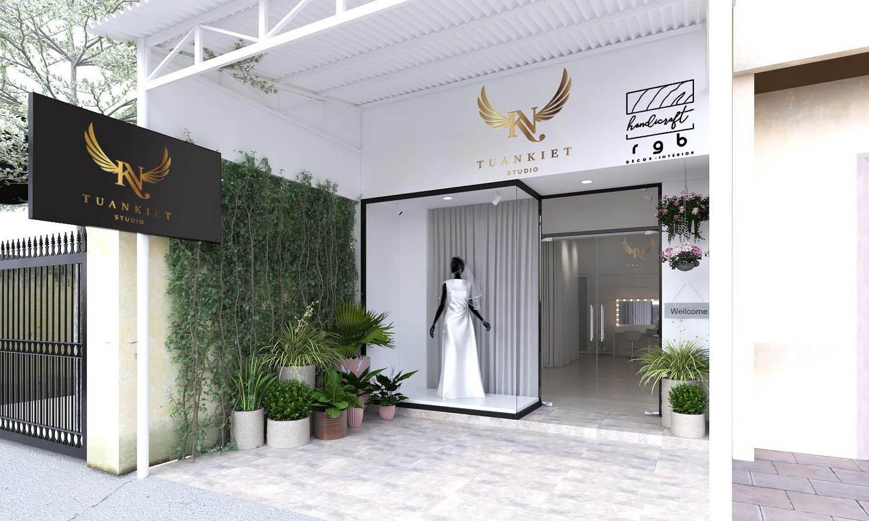 studio áo cưới hiện đại