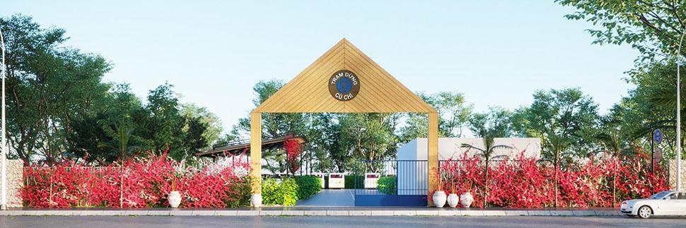 Mẫu thiết kế cổng trạm dừng chân