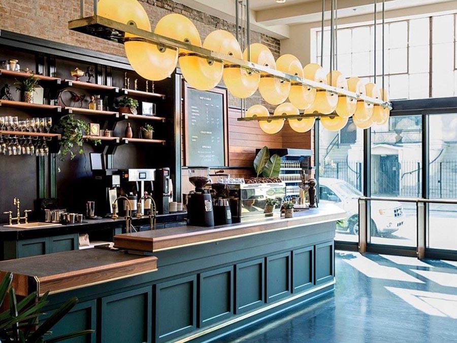 Mẫu thiết kế quán cafe bar