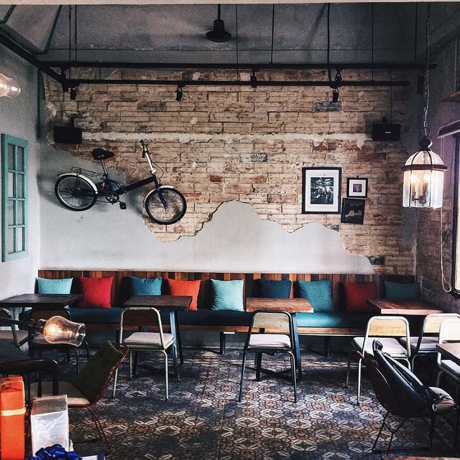 thiết kế quán cafe hoài cổ