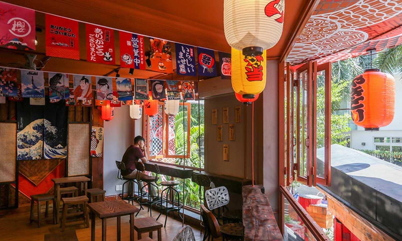 quán cafe kiểu nhật