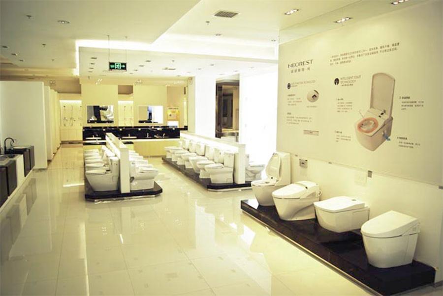 Hình ảnh showroom thiết bị vệ sinh