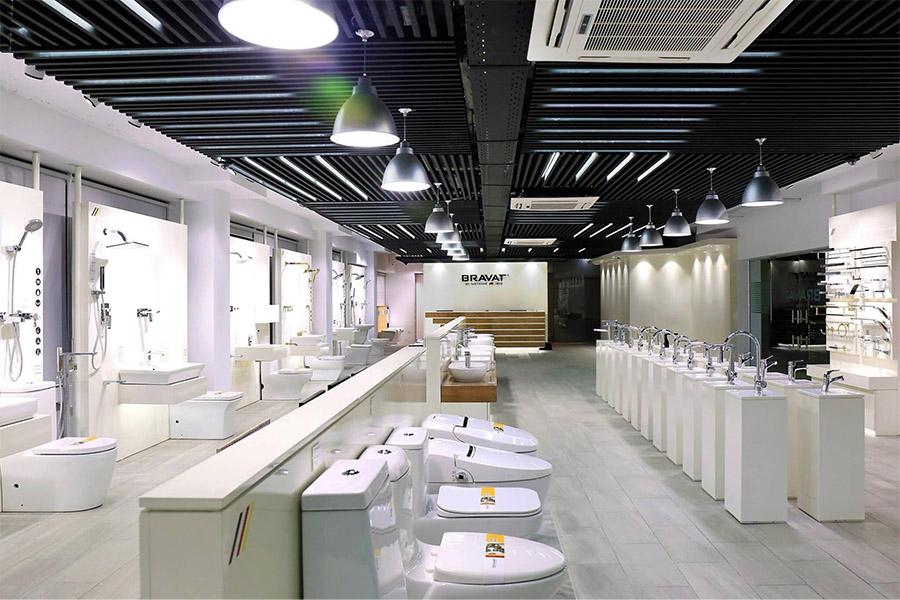 Mẫu thiết kế không gian showroom