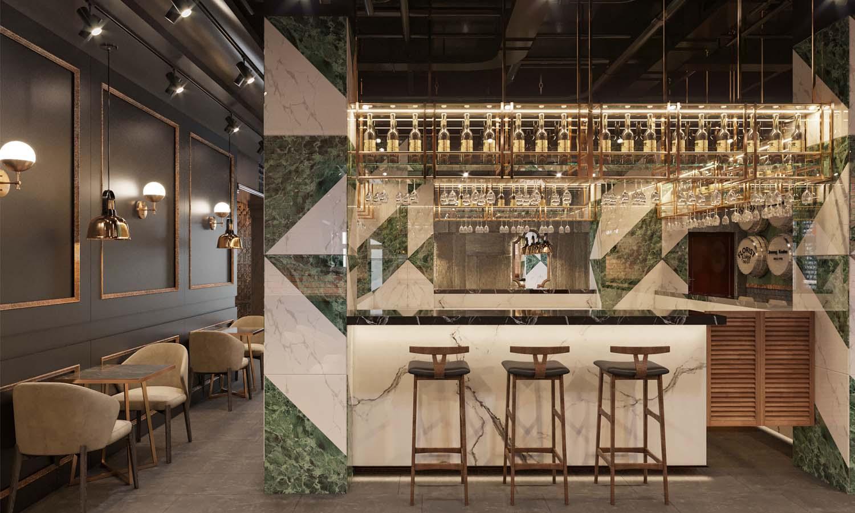 thiết kế nhà hàng cao cấp