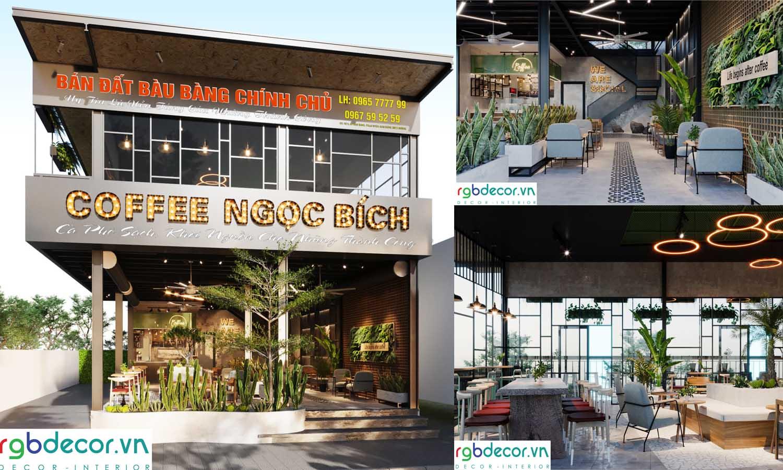 quán cafe 100m2