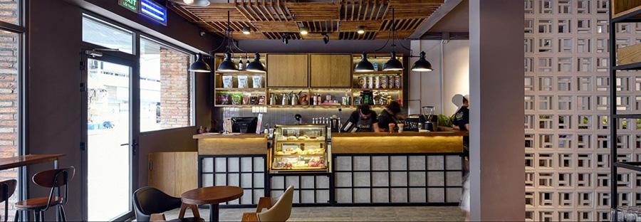 quán cafe ấn tượng