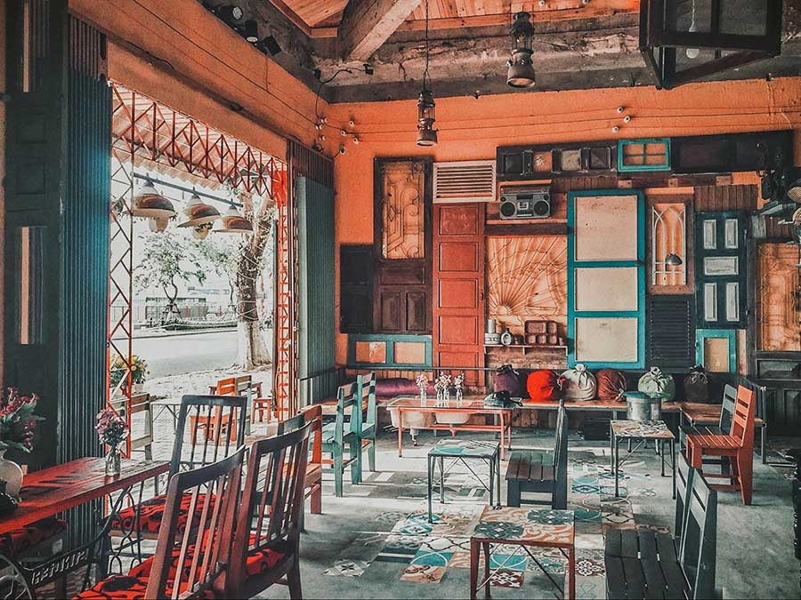 quán cafe cổ điển