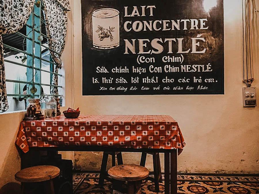Quán cafe phong cách Việt Nam hoài cổ