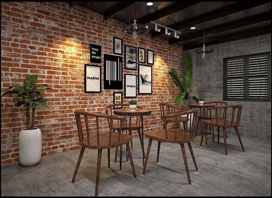quán cafe gỗ