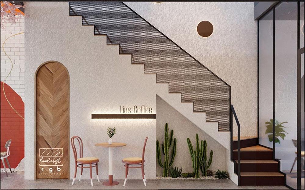 quán cafe hiện đại