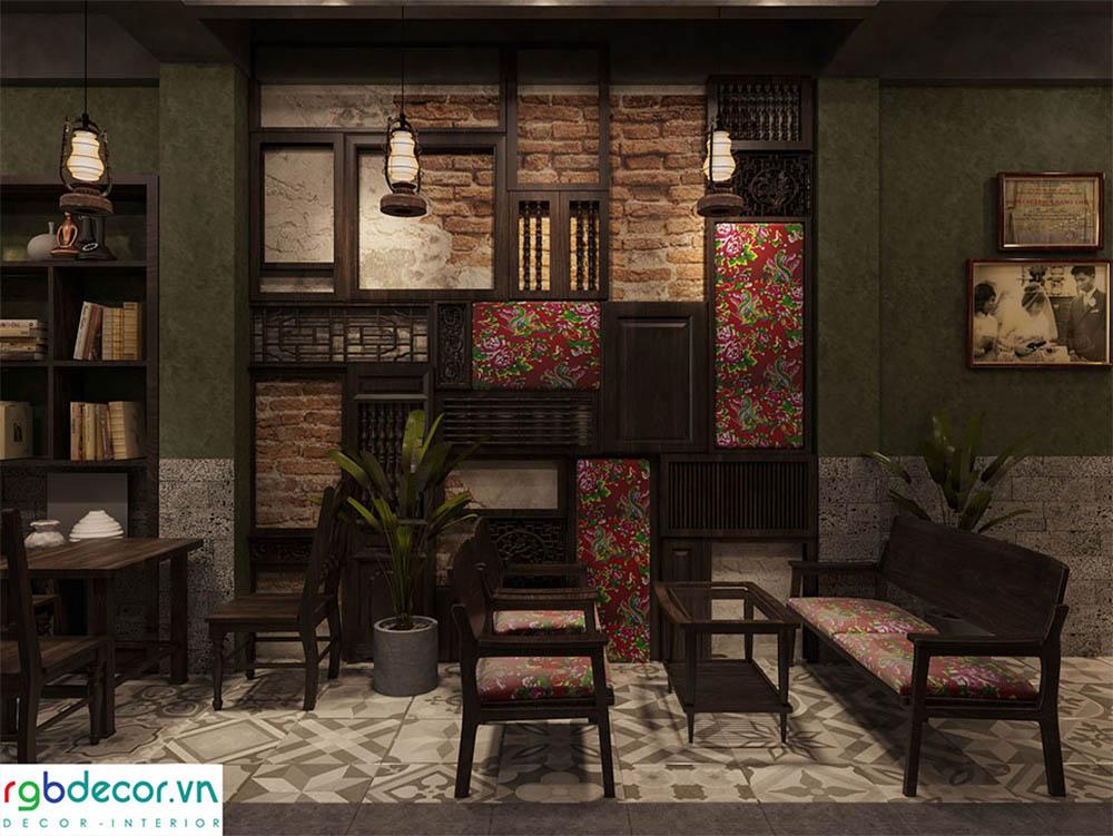 Không gian cafe độc đáo