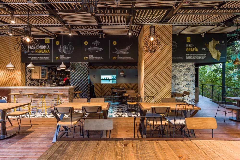 không gian quán cafe độc đáo