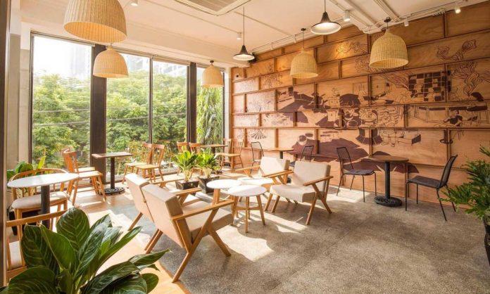 quán cafe đơn giản